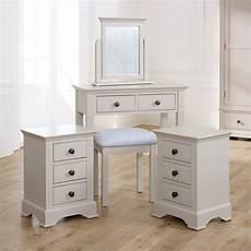 dressing table bedsides davenport taupe grey range
