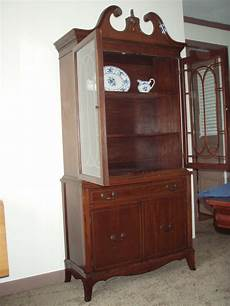 vintage mahogany china cabinet for sale antiques