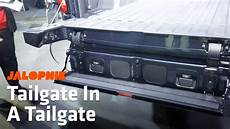 2019 gmc new tailgate how the 2019 gmc s multipro tailgate works