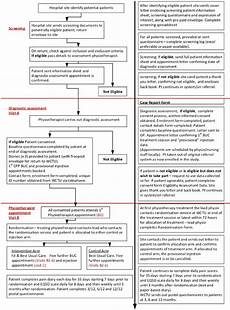 Physiotherapy Assessment Chart Patient Flow Chart And Associated Forms Download