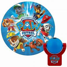 Paw Patrol Night Light Projectables Nickelodeon Paw Patrol Projectable Led Night