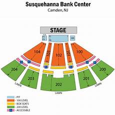 Susquehanna Bank Center Camden Nj 3d Seating Chart Bb Amp T Pavilion Tickets In Camden Nj New Jersey