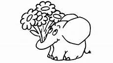 elefant mit blumen 736 malvorlage alle ausmalbilder