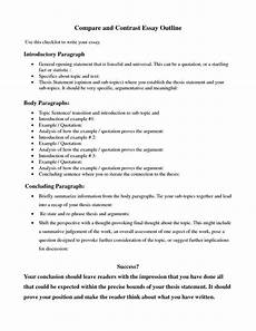 Point By Point Compare And Contrast Essay Compare And Contrast Essay Help Examples And Samples