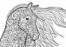Malvorlagen Mandalas Pferde Pferde Mandala Als Pdf Zum Kostenlosen Herunterladen