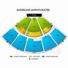 Shoreline Seating Chart View Shoreline Amphitheatre Tickets Vivid Seats