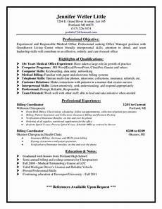 Medical Biller Resume Samples Medical Billing Supervisor Resume Sample Http