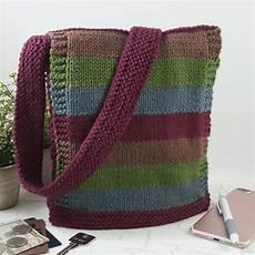 easy knit messenger bag allfreeknitting