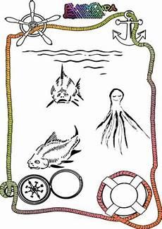 Ausmalbilder Fische Meer Malvorlagen Meerestiere Ausmalbild Tiere Im Wasser