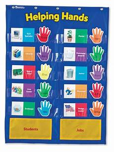 Small Pocket Charts For Teachers Helping Hands Job Pocket Chart Learning Tree Educational
