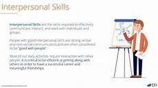 Strong Interpersonal Skills Definition Interpersonal Skills Youtube