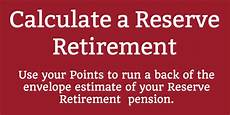 Army Reserve Retirement Points Chart Army Reserve Retirement Points Chart