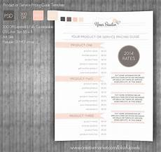Product Card Templates Pricing Guide Template Stationery Templates Creative