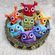 amigurumi owl happy fiber new free pattern friday