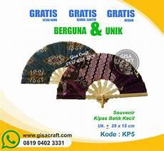 souvenir kipas batik kecil kp5 gisa craft