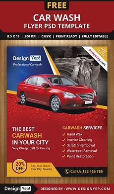 Car Sale Flyer Free Car Wash Flyer Psd Template On Behance