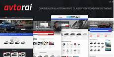 Car Dealer Wordpress Theme Free Download Download Avtorai Car Dealer Amp Automotive Classified