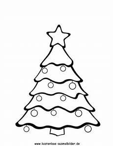 Malvorlage Weihnachtsbaum Einfach Weihnachtsbaum Weihnachten Ausmalen Malvorlagen