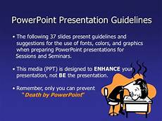 Powerpoint Rules Powerpoint Guidelines