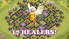 Clash Of Clans Max Levels Chart Clash Of Clans 17 Max Level Healers King And Queen