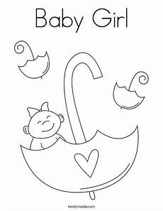 Baby Girl Coloring Pages Baby Girl Coloring Page New Baby Products Baby Coloring