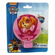 Paw Patrol Night Light Paw Patrol Skye Pink Colored Shade Night Light Walmart Com