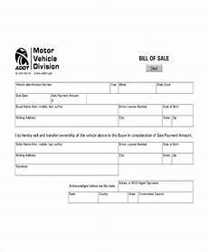 Vehicle Bill Of Sale Template Pdf Vehicle Bill Of Sale Template 14 Free Word Pdf