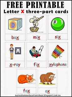 8 Letter Word With X Letter X Printable Cards And Activity Ideas Home