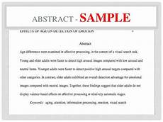 How To Write An Abstract Apa Sample How To Do An Abstract Apa How To Cite An Abstract Source