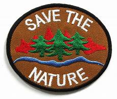 embroidery patches peace002 save the nature patch peace sign