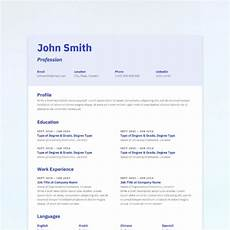 Simplicity Resume This Combination Resume Mixes Simplicity With