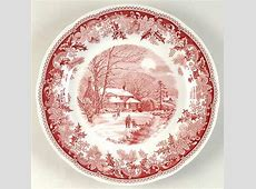 Spode, Winter?s Eve Red at Replacements, Ltd