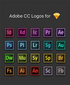 Adobe Software For Design Adobe Cc Logos For Sketch On Behance
