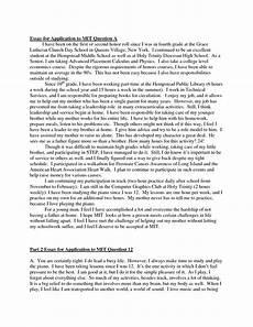 Sample College Application Essays College Application Essay Quotes Quotesgram