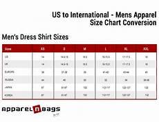 Shirt Conversion Chart Us To International Men Size Chart Conversion