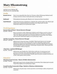 Resume Content Tips 19 Google Docs Resume Templates 100 Free Resume