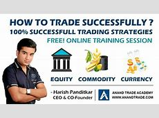 100% Successful Trading Strategies Nifty Equity Commodity