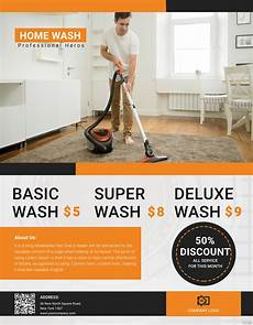 Cleaning Flyer Template Free Cleaning Service Flyer Template In Adobe Photoshop