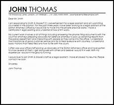 Cover Letter For Attorney Position Assistant Sample Cover Letter Cover Letter