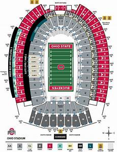 Stanford Stadium Seating Chart Seat Numbers Ohio Stadium Seating Chart With Seat Numbers Frameimage Org