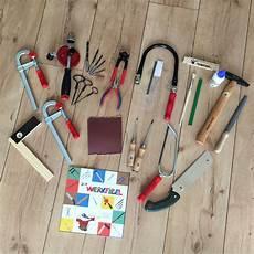 Werkzeugset Kinder Echt by Werken Mit Kindern Einfache Holzbaus 228 Tze Echtes