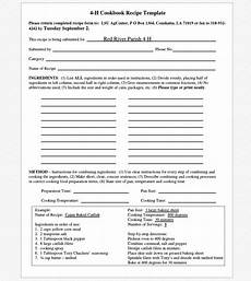Free Cookbook Templates For Word Cookbook Templates Create Your Own Recipe Book Word Pdf