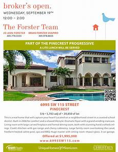 Broker Open House Flyer Come Have Lunch At Our Broker S Open House Tomorrow The