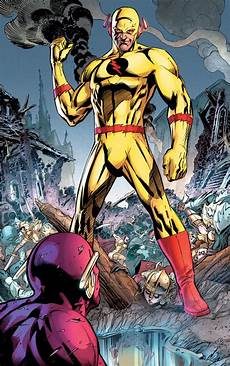 Animated Flash Dc Comics 101 What S The Difference Between The Reverse