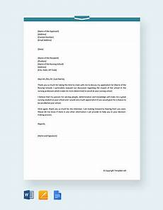 Thank You Letter After Nursing Interview Free 8 Sample Nursing Interview Thank You Letter