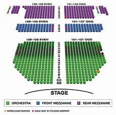Barrymore Theater Seating Chart John Golden Theatre Large Broadway Seating Charts