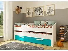 da letto per bambini letto estraibile anselme 90x190 cm opzione materasso