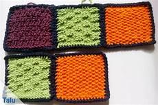 patchworkdecke stricken anleitung zum quadrate stricken