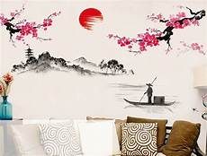 Flower Decoration Ke Wallpaper by Style Japanese Pink Cherry Blossom Tree
