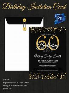 Birthday Invitations Templates Free Download Birthday Invitation Template 70 Free Psd Format